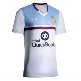 Aston Villa Away Shirt 2016-17 - Kids White