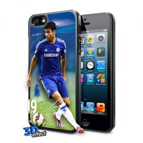 Chelsea Diego Costa 3D iPhone 5 Hard Case