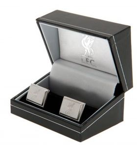 Liverpool Rectangle Liverbird Cufflinks - Stainless Steel