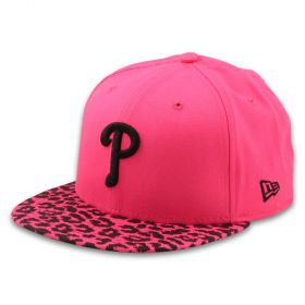 Шапка New Era Pink Leo 9FIFTY Womens Snapback