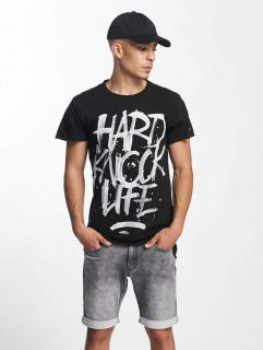 Rocawear / T-Shirt Hard Knock Life in black