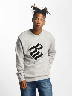 Rocawear / Jumper Retro Basic Crew Neck in grey