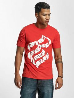 Rocawear / T-Shirt Fingerprint in red