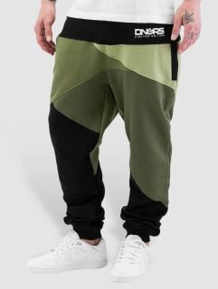 Dangerous DNGRS / Sweat Pant Locotay Race City in olive