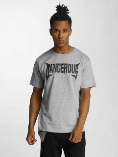 Dangerous DNGRS / T-Shirt Methal in grey