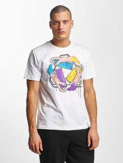 Dangerous DNGRS / T-Shirt Saintthree in white