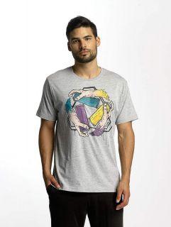Dangerous DNGRS / T-Shirt Saintthree in grey