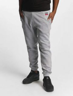 Dangerous DNGRS / Sweat Pant Twoblock in grey