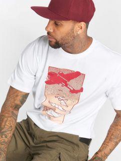 Мъжка тениска Dangerous DNGRS / T-Shirt Weedsky in white