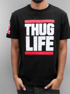 Thug Life / T-Shirt Bigfight in black
