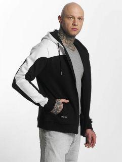 Thug Life / Zip Hoodie Crock in white