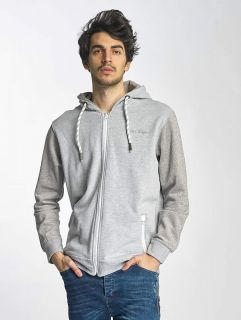 Мъжки суичър Just Rhyse / Zip Hoodie Palo Alto in grey