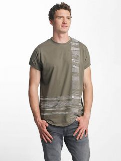 Just Rhyse / T-Shirt Morro Bay in olive
