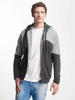 Just Rhyse / Zip Hoodie Palo Verde in grey