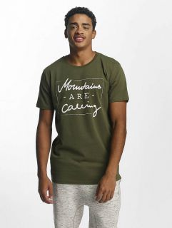 Just Rhyse / T-Shirt Kasaan in olive