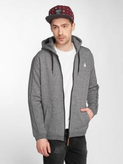 Just Rhyse / Zip Hoodie Lima in grey