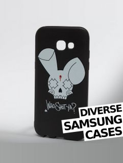Who Shot Ya? / Mobile phone cover Bunny Logo Samsung in black