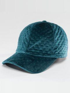 Bangastic / Snapback Cap Velvet in turquoise