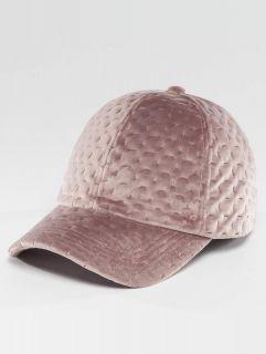 Bangastic / Snapback Cap Velvet in rose