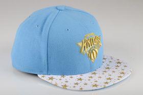 Type Caps New Era Star Hook New York Knicks Fitted Cap