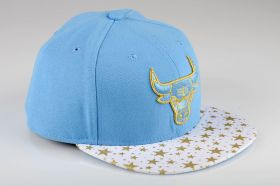 Type Caps New Era Star Hook Chicago Bulls Fitted Cap