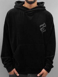 Rocawear / Hoodie Velour II Samt in black