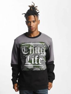 Thug Life / Jumper New Life in black