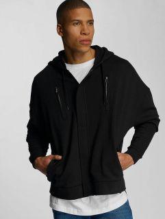Bangastic / Zip Hoodie AE463 Oversize in black
