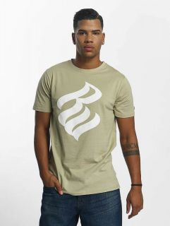 Rocawear / T-Shirt Logo in khaki