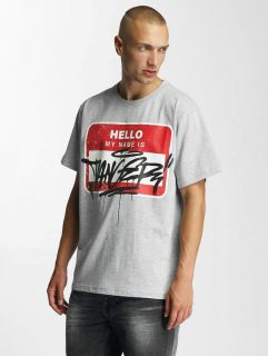 Dangerous DNGRS / T-Shirt Hello in grey