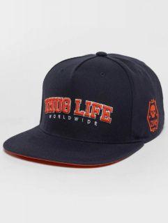 Thug Life / Snapback Cap Blazer in blue