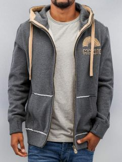 Just Rhyse / Zip Hoodie MMXII in grey