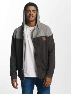 Just Rhyse / Zip Hoodie Ocotillo in grey
