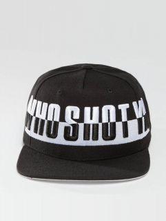 Who Shot Ya? / Snapback Cap 3 Dee Graves in black