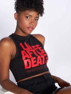 Who Shot Ya? / Tank Tops Life after death in black