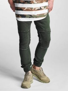 2Y / Slim Fit Jeans Denim Jogger in olive