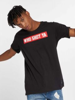Who Shot Ya? / T-Shirt Fresh W in black