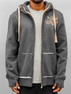 Just Rhyse / Zip Hoodie Big in grey