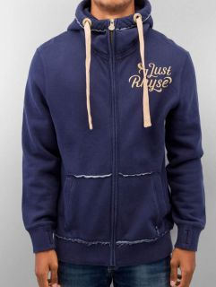 Мъжки суичър Just Rhyse / Zip Hoodie Big in blue
