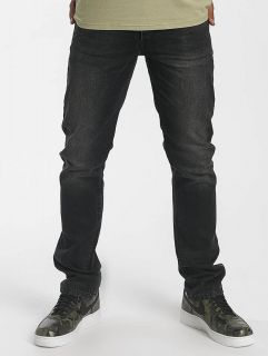Rocawear / Straight Fit Jeans Relax Fit in black