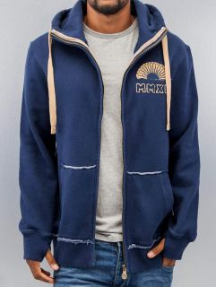 Just Rhyse / Zip Hoodie MMXII in blue