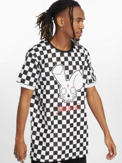 Who Shot Ya? / T-Shirt Checkboard in black