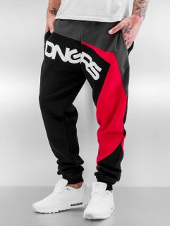 Dangerous DNGRS / Sweat Pant Race City in black
