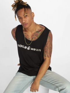 Rocawear / Tank Tops Camo Block in black