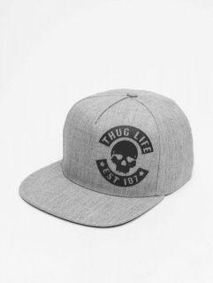 Thug Life / Snapback Cap Young in grey