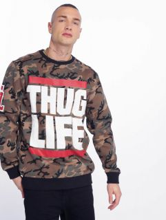 Thug Life / Jumper B.Fight in camouflage